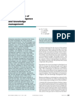 The integration of business intelligence and knowledge management