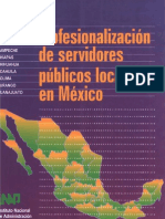 40 Profesionalizacion de Servidores Publicos Locales en Mex