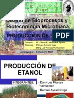 Produccion de BioEtanol