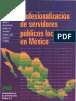 41 Profesionalizacion de Servidores Pblicos Locales en Mx