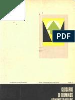 63 Glosario de Terminos Administrativos