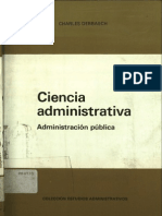 ciencias administrativas