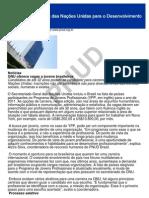 Programa das Nações Unidas para o Desenvolvimento