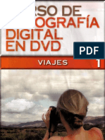 Curso de Fotografía Digital en DVD Tomo 1 (Viajes)