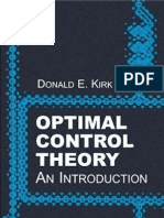 Optimal Control Theory,An Introduction. by Kirk -Book
