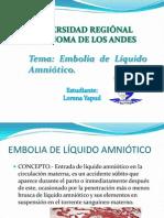 Lore Embolia de Liquido A