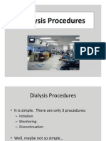 Dialysis Procedures