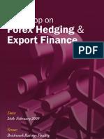 Forex Hedging Export Finance