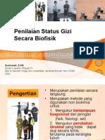 Penilaian Status Gizi Secara Biofisik 2