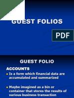 Guest Folios - 5 Midterm