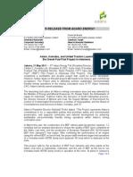 ADRO 20110531 Press Release Peresmian Pilot Project BDF English