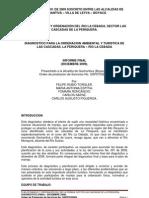 Diagnostico La Periquera Final 2009