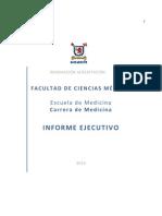 Informe Autoevaluación Acreditación 2010 Medicina USACH