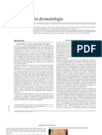 Actualités en dermatologie