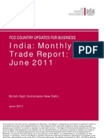 India_ Monthly Trade Report - June 2011