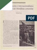 Löwy Michael-Mundialización e internacionalismo_actualidad del Manifiesto Comunista-Memoria 113