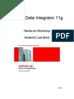 PTS ODI11g Workshop LabBook