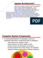 Comp Arch Overview