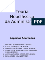 Teoria Neoclássica Da Administração(1)