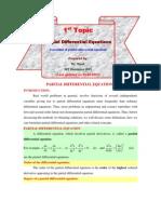 1.Formulation of PDE
