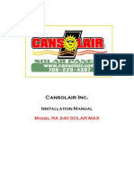 CanSolAIr Solar Heater Install Instr.