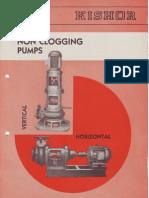 Non Clog Pumps