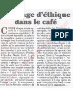 Le Canard enchainé - 2007.04.11 - Un nuage d'éthique dans le café (enquête sur le café soit disant équitable)