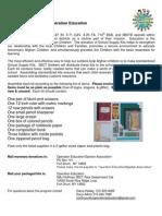 Operation Education Flyer