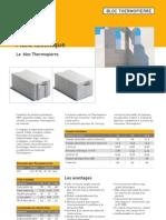 Thermopierre Fiche Blocs Isolants