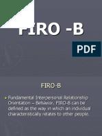 FIRO-B