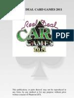 2011 Card Games Manual