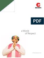 Escorts Annual Report 2009 2010