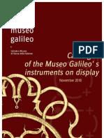 catalogo museo galileo