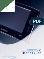 Samsung Q1 Manual