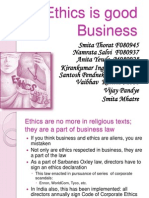 Ethics is Good Business Presentation 3[1] Bk Ch