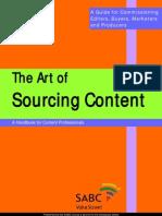 Art of Sourcing Content