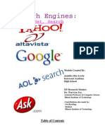 Search Engines Module