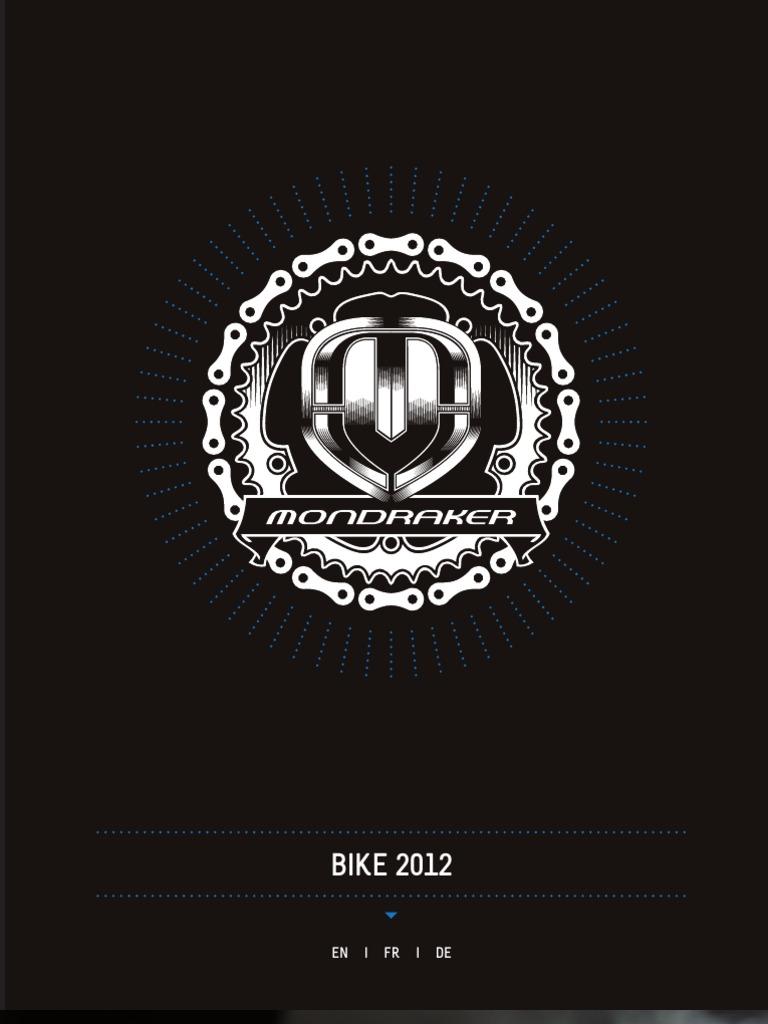 AuBergewohnlich Mondraker Katalog 2012 | Human Powered Vehicles | Mechanical Engineering