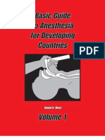 Basic Guide to Anesthesia for Developing Countries