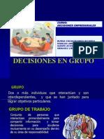 Decisiones en Grupo