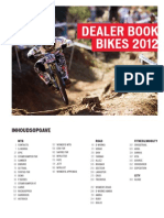 Dealer Book 2012 Bikes Nederlands