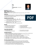 resume model for freshers engineers