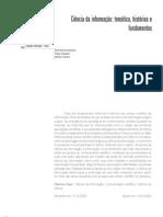 Ciência da Informação - temática e fundamentos253
