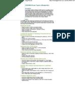(642-812) BCMSN Exam Topics..