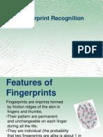Fingure Print Recognition