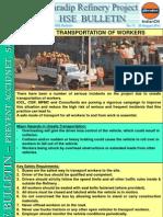 HSE Bulletin 17 Unsafe Transportation
