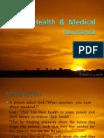 Health & Medical Insurance