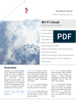 WiTech Wi-Fi Cloud Brochure