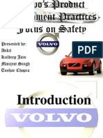 VOLVO'S PRODUCTION SYSTEM
