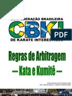 Regras de Arbitragem CBKI